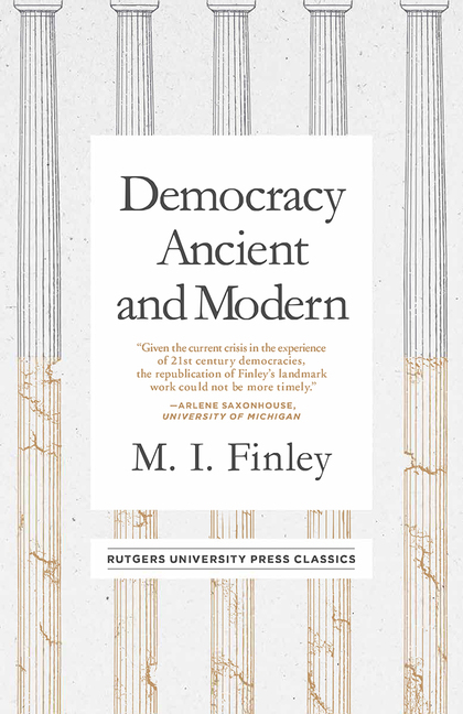 Book details rutgers university press loading democracy ancient and modern fandeluxe Gallery